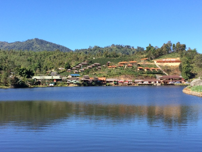 Village chinois lac